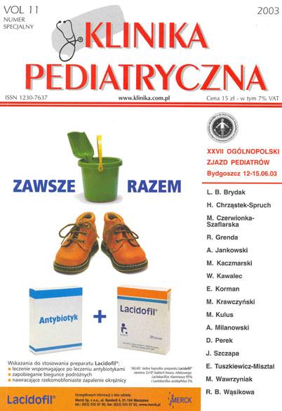 KP 2003/6 - XXVII Zjazd Pediatrów w Bydgoszczy