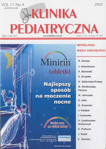 KP 2003/4 - Nefrologia wieku dziecięcego
