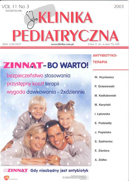 KP 2003/3 - Antybiotykoterapia