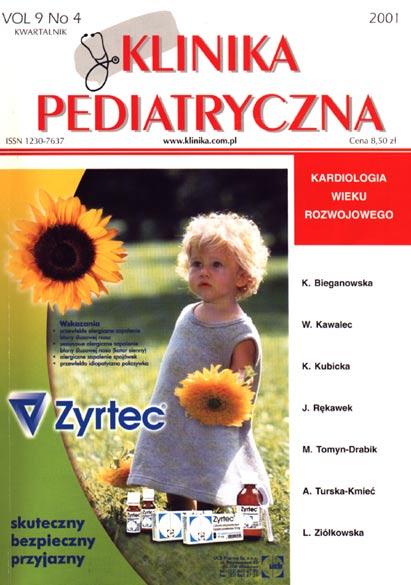 KP 2001/4 - Kardiologia wieku rozwojowego