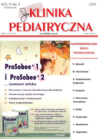 KP 2001/3 - Gastroenterologia Wieku Rozwojowego