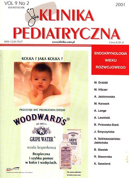 KP 2001/2 - Endokrynologia Wieku Rozwojowego