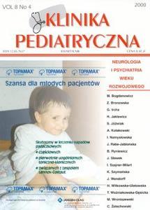 KP 2000/4 - Neurologia i Psychiatria wieku rozwojowego