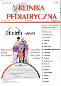 KP 2000/1 - Choroby Metaboliczne wieku rozwojowego