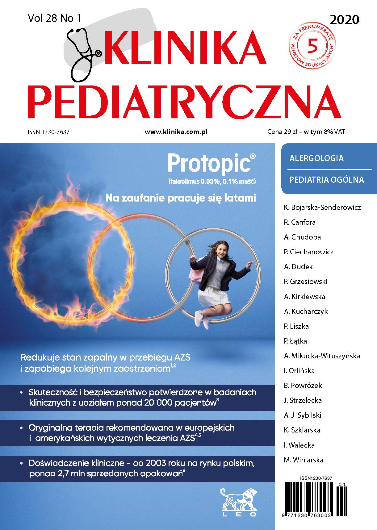 KP1/2020 Alergologia/Pediatria ogólna