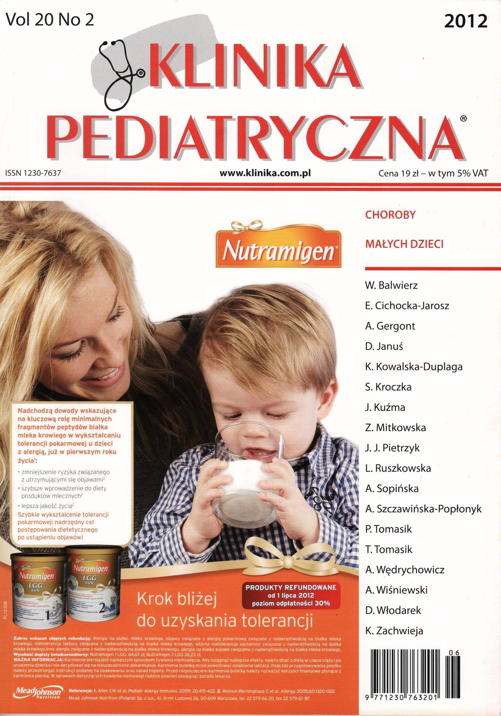 KP 2012/02 - Choroby małych dzieci