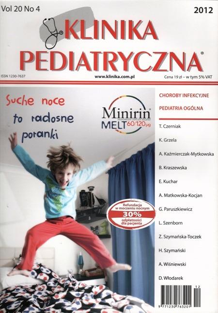 KP 2012/04 - Choroby infekcyjne, Pediatria ogólna