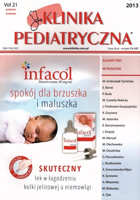 KP 2013 - Numer Specjalny - Algorytmy w Pediatrii