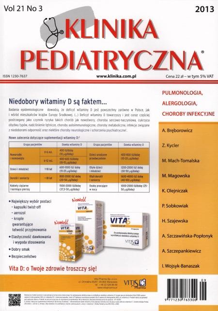 KP 2013/03 - Pulmonologia, Alergologia, Choroby infekcyjne