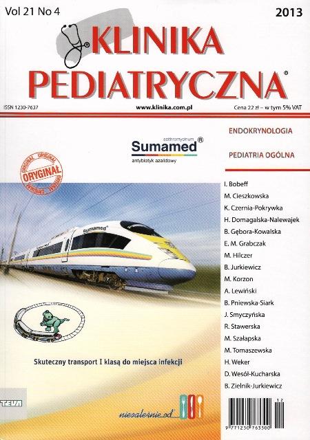 KP 2013/04 - Endokrynologia, Pediatria ogólna