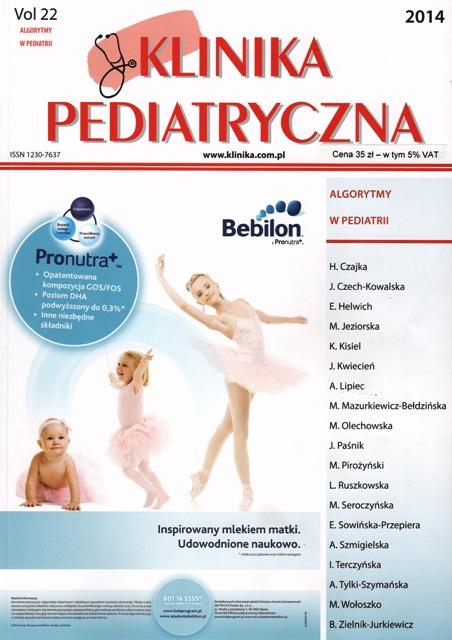 KP 2014 - Numer Specjalny - Algorytmy w Pediatrii