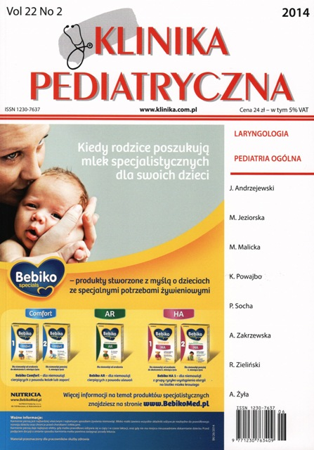 KP 2014/02 - Laryngologia, Pediatria ogólna