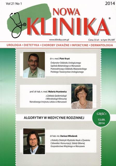 KN 2014/01 - Urologia, Dietetyka, Choroby Zakaźne i Infekcyjne, Dermatologia
