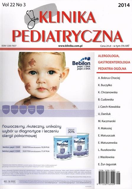 KP 2014/03 - Alergologia, Gastroenterologia, Pediatria Ogólna