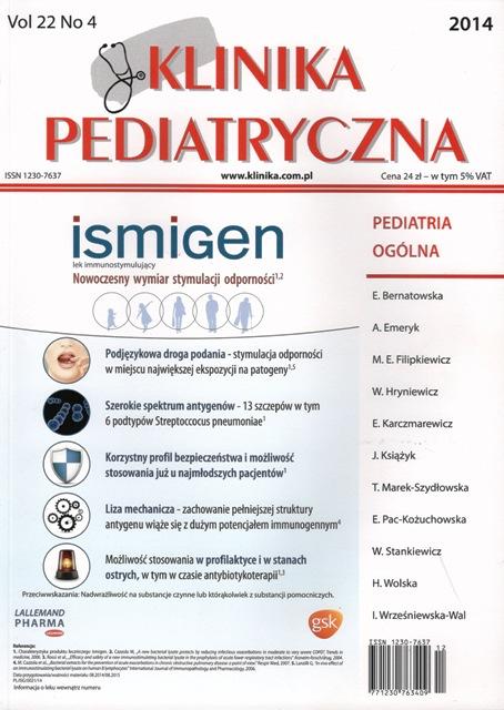 KP 2014/04 - Pediatria Ogólna