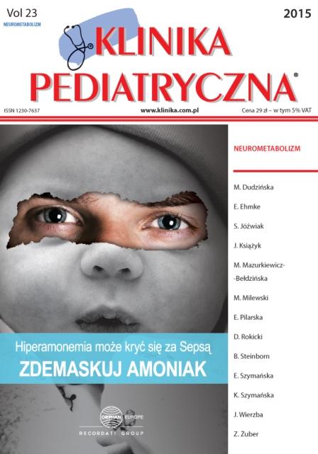 KP 2015 - Numer Specjalny - Szkoła Neurometaboliczna