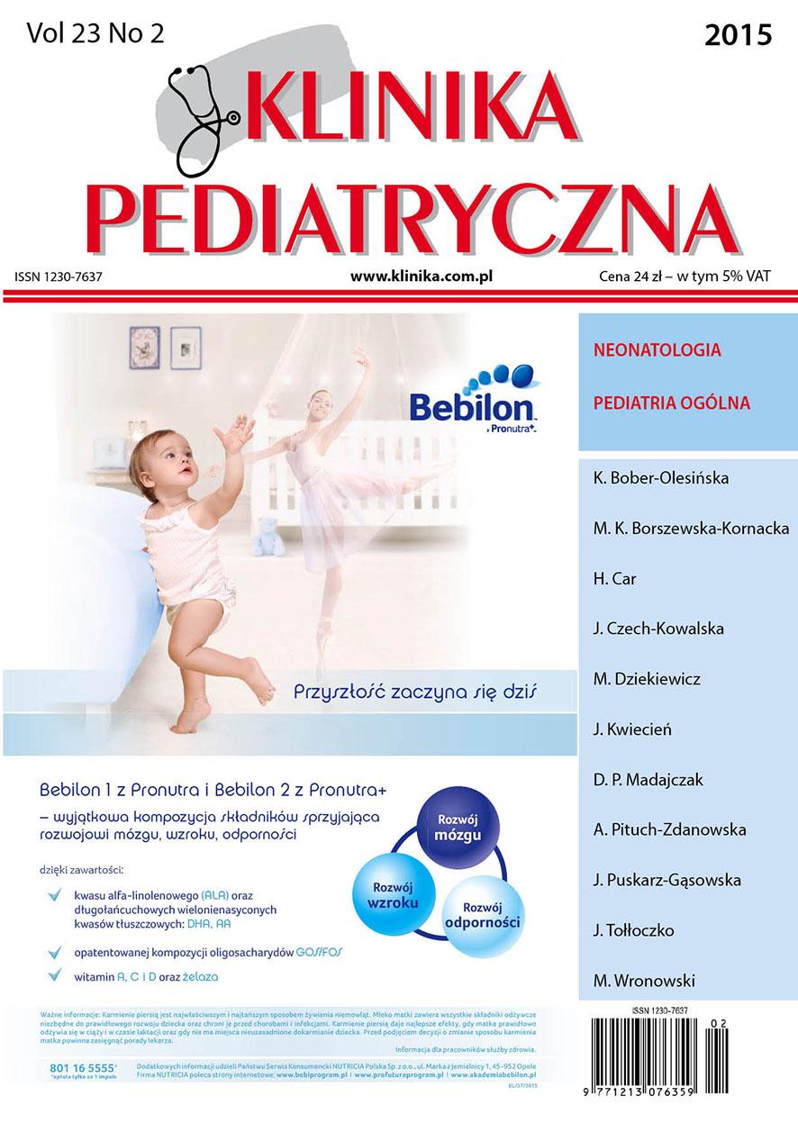 KP 2015/02 - Neonatologia, Pediatria Ogólna