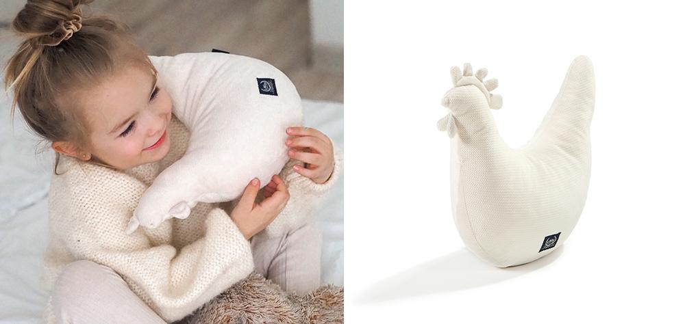 Poduszka Kurka Bebe