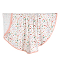 BAMBOO ROUND SWADDLE - KING SIZE - FRENCH RIVIERA GIRL