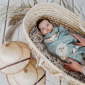 Otulacz bambusowy medium size