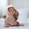 SZLAFROK BAMBOO SOFT - SMALL - POWDER PINK - I'M A RAINBOW BABY