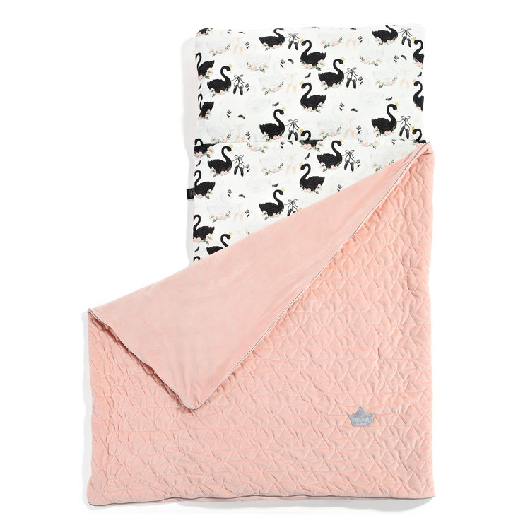 Velvet Collection Nap Mat Candy Powder Pink