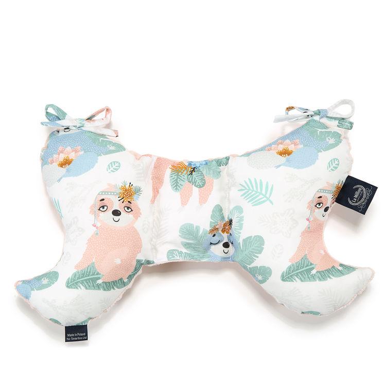 Breastfeeding Pillow La Millou Breastfeeding Pillow Dana/'s Hen Grey Yoga Sloth
