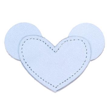 MOONIE'S FIRST CHARM - MOUSIE HEART - CLOUDY BLUE