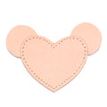 MOONIE'S FIRST CHARM - MOUSIE HEART - CANDY PINK