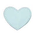 MOONIE'S FIRST CHARM - HEART - TURQUOISE DUST