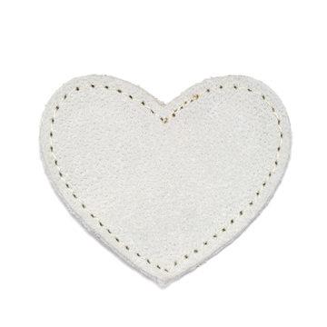 MOONIE'S FIRST CHARM - HEART - MOON GRAY