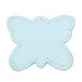 MOONIE'S FIRST CHARM - BUTTERFLY - TURQUOISE DUST