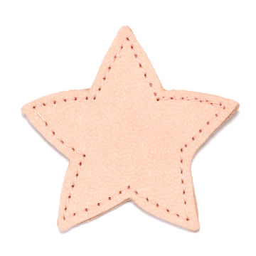MOONIE'S FIRST CHARM - STAR - CANDY PINK