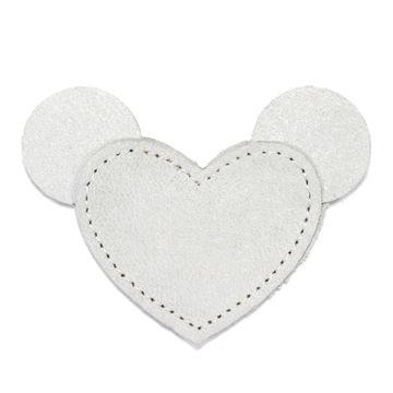 MOONIE'S CHARM - MOUSIE HEART - MOON GRAY