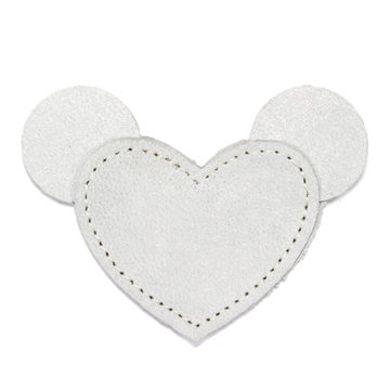 MOONIE'S FIRST CHARM - MOUSIE HEART - MOON GRAY