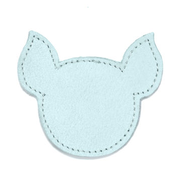 MOONIE'S FIRST CHARM - PIGGY - TURQUOISE DUST