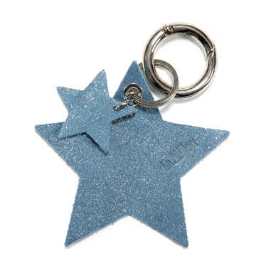 BRELOK LOCO LEATHER - STAR - STARDUST