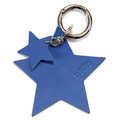 BRELOK LOCO LEATHER - STAR - INDIGO