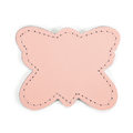 MOONIE'S FIRST STEP CHARM - BUTTERFLY - CANDY PINK