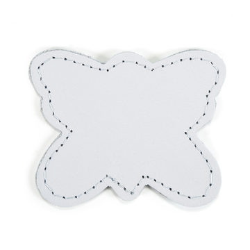 MOONIE'S FIRST STEP CHARM - BUTTERFLY - MOON GRAY