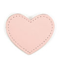 MOONIE'S FIRST STEP CHARM - HEART - CANDY PINK