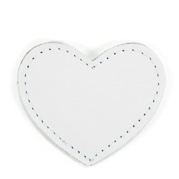 MOONIE'S FIRST STEP CHARM - HEART - MOON GRAY