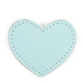MOONIE'S FIRST STEP CHARM - HEART - TURQUOISE DUST