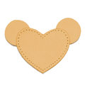 MOONIE'S FIRST STEP CHARM - MOUSIE HEART - SWEET TOFFEE