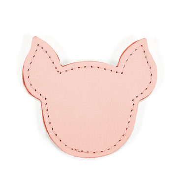 MOONIE'S FIRST STEP CHARM - PIGGY - CANDY PINK