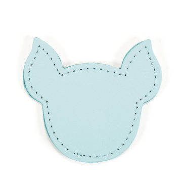 MOONIE'S FIRST STEP CHARM - PIGGY - TURQUOISE DUST