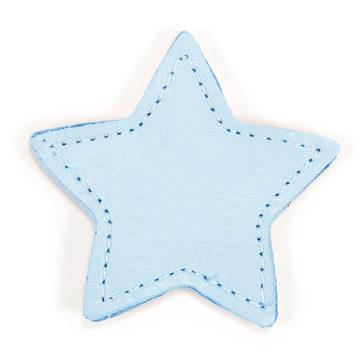 MOONIE'S FIRST STEP CHARM - STAR - CLOUDY BLUE