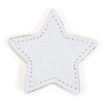 MOONIE'S FIRST STEP CHARM - STAR - MOON GRAY