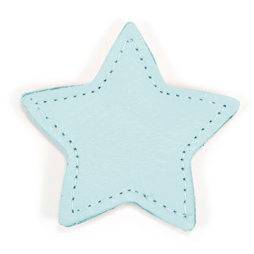 MOONIE'S FIRST STEP CHARM - STAR - TURQUOISE DUST