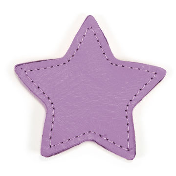 MOONIE'S FIRST STEP CHARM - STAR - LAVENDER FIELDS